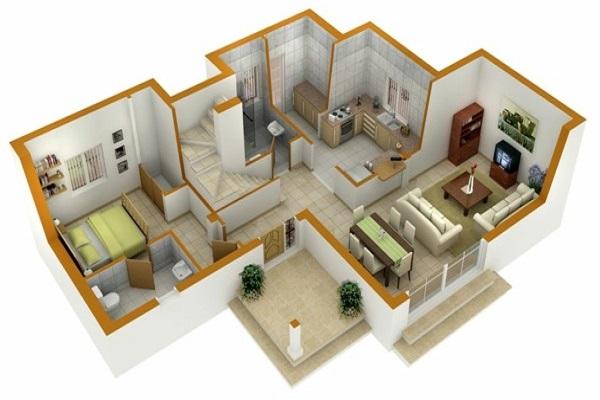 planos-de-casas-de-una-planta